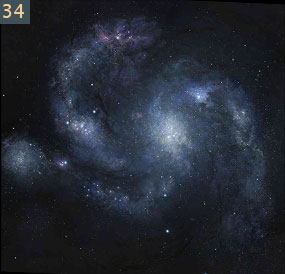 34 oldest spiral galaxy